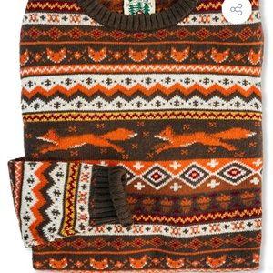Kiel James Patrick Fantastic Fox Sweater